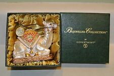 NIB Camel Swarovski Bejeweled Trinket Box Enameled Dept 56 Jeweled #31608