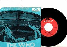 THE WHO 7'' PS Let's See Action Norway POLYDOR 2094 102 RARE UNIQUE COVER  45