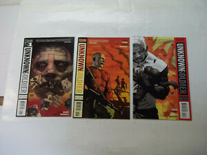 UNKNOWN SOLDIER (VERTIG0)  COMPLETE SET  #1 - 25  8.5 VF+ (2008)