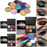 Shimmer Glitter Eye Shadow Powder Palette Matte Eyeshadow Cosmetic Makeup New