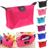 Travel Waterproof Cosmetic Makeup Bag Handy Case Storage Pouch Purse Handbag