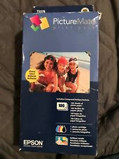 Epson PictureMate Print Pack Ink Cartridge + 100 Photo Paper T5570 Exp. 12/2012