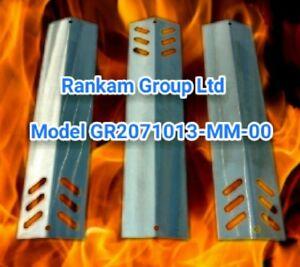 """Rankam Group LTD model GR2071013-MM-00 16""""X4"""" Stainless 16ga Flame Tamer Plates"""
