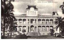 Capitol Building, Honolulu, Hawaii Postcard