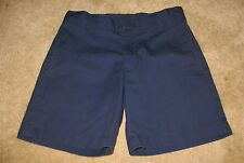 "K-12 GEAR Girls' 6X NAVY UNIFORM SHORTS (adjustable waist; 5"" inseam) perfect"