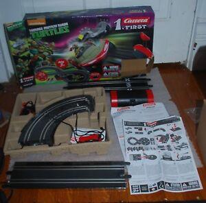 Teenage Mutant Ninja Turtles 1/50 slot car racing set - Carrera 1 First TMNT