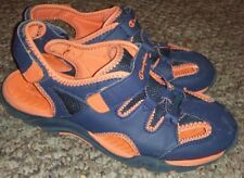 Champion Youth Size 4.5 Sandals Blue + Orange Shoes 159896