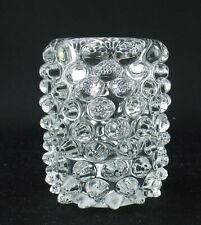 Murano Glas Vase Lenti Mid Century 50s 60s Teelichthalter Noppen Nuppen Warzen