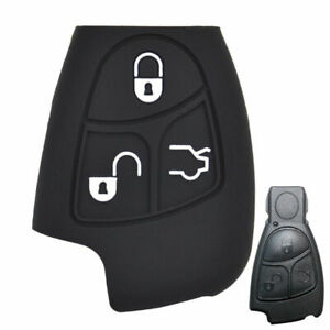 Silicone Key Cover For MERCEDES BENZ CLS SL C E S CLASS Case Fob Holder