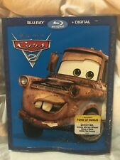 Disney Pixar Cars 2 - Blu-Ray + Digital Movie Nueva con Funda