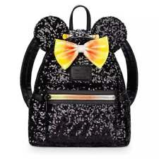 DISNEY Loungefly HALLOWEEN - MINNIE MOUSE CANDY CORN SEQUIN Mini Backpack/Bag