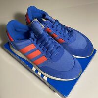 Adidas I-5923 Iniki Boost Runner True Blue Shock Red Gum BD7802 Mens Size 9 NEW