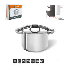 18CM/3.5LTR  JOMAFE INDUCTION STOCKPOT  STAINLESS STEEL