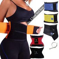 Unisex Xtreme Power Belt Hot Slimming Thermo Shaper Waist Trainer Faja Sport HOT