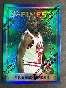 1995-96 Finest Refractors #229 Michael Jordan