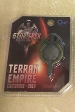 Star Trek Terran Empire Mirror Universe Insignia Combadge by QMX Cosplay Item