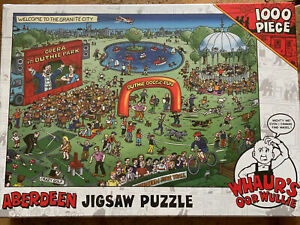 WHAUR'S OOR WULLIE 1000 Pcs ABERDEEN JIGSAW PUZZLE  SCOTTISH WALLY  THE BROONS