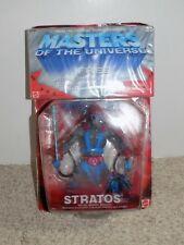 Masters of The Universe Stratos Action Figure with VHS tape 2002 Mattel