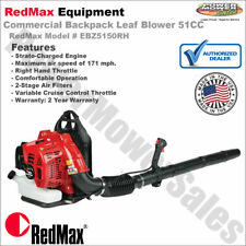 RedMax Commercial Backpack Leaf Blower 51CC, Hand Throttle / EBZ5150RH