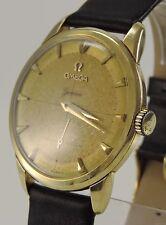 Vintage Omega Geneve 17 Jewels Gelbgold 750er 18 Karat Herrenuhr Ref-2748