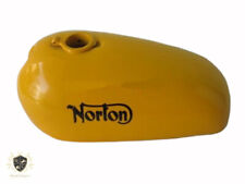 NORTON HI-RIDER YELLOW PAINTED STEEL GAS FUEL PETROL TANK |Fit For