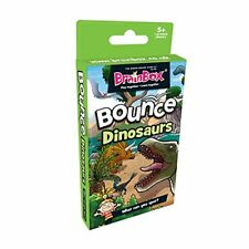 Brainbox Bounce Dinosauri-educative Memory Card Game