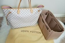 Authentic Louis Vuitton Neverfull damier azur GM Ballerine
