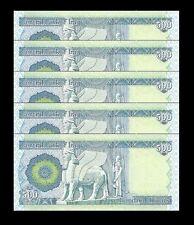 Iraq Iraqi Dinar 3000 3,000 = 6 x 500 Dinar Notes Unc. - Lot Of 6 - Collectible