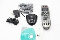 LOGITECH HARMONY 650 REMOTE WITH LOGITECH RF EXTENDER, CABLES AND MANUALS