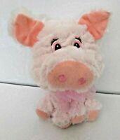 "Pink Pig Small 7"" Soft Plush Stuffed Animal Play Toy Walmart FREE SHIPPING"