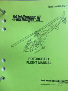 Bell Helicopter Jetranger B111 Pilots Flight Manual