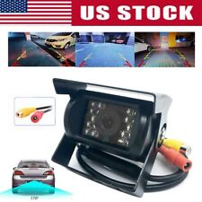 HD Night vision Rear View Backup Camera for Car Truck Bus Caravan 24V US