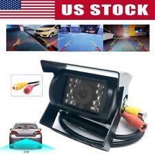 HD CMOS Car Rear View Backup Reverse Camera 18 LED Night Vision Waterproof PP