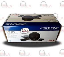 "Alpine SPR60C 660W 6.5"" 2 Way Component Car Audio Speaker System"