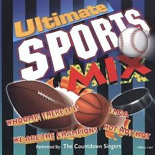 Ultimate Sports Mix by The Countdown Singers (CD, 1998)  Free Ship! Disc Only