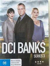 DCI BANKS (COMPLETE SERIES 3 - DVD SET SEALED + FREE POST)