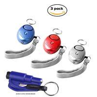 Safesound Personal Alarm Women Keychain 130db Safety Security Emergency Siren