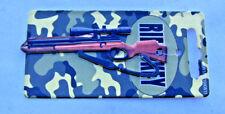 (1) House Key blank looks like a Scoped Rifle for Kwikset locks KW1 KW10 KW11