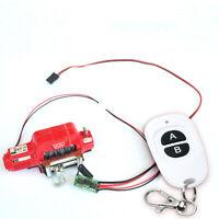 Metal Electric Winch+Controller for 1/10 RC Car Crawlers TRX-4 TRX4 D90 SCX10