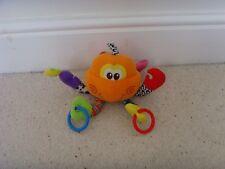 Tesco Activity Sensory Soft Toy Crab