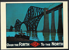 Advertising Postcard - Trains - L.N.E.R - Over The Forth To The North  Y262