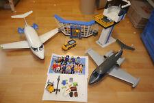 Playmobil Aéroport+2 Avions+Aéroport Tour + Accessoire (F11)