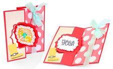 Sizzix Framelits Bubbly Frame Flip-its Card 13pk set #659638 MSRP $29.99 Barnard