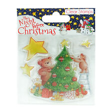 'The Night Before Christmas by Helz Cuppleditch' 'Tree' Clear Stamp Set