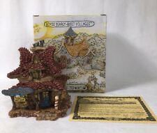 Boyds Bearly Built Villages #10 Madge's Beauty Salon #19010 2E/4174 In Box