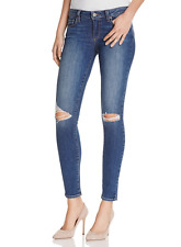Paige Verdugo Ankle Slim Skinny Jeans in Keiran Destructed sz.28 NWT