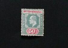 BRITISH HONDURAS 1904 50c SG 90 Sc 68 MLH