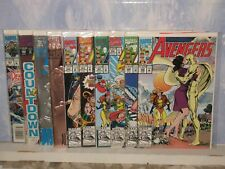 AVENGERS 10 COMIC LOT  (RANGING FROM)  #348- 365  1992-1993  MODERN AGE  MARVEL