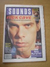 SOUNDS 1990 APRIL 14 NICK CAVE IAN BROWN PRODUCERS PAUL OAKENFOLD BLUR SLAYER