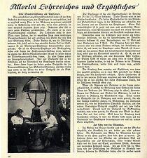 Eine Ständertischlampe als Rundfunk- Empfänger Kopfhörer Histor.Technik von 1925
